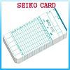 출퇴근카드 SEIKO